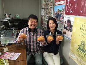 深田さんラジオ出演